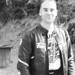 Jean-claude, motard rennais à Saint Malo