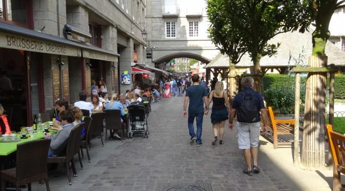 arrière saison tranquille à Saint-Malo