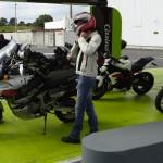 l'équipement de motard