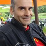 jean-claude motard Rennais en Triumph