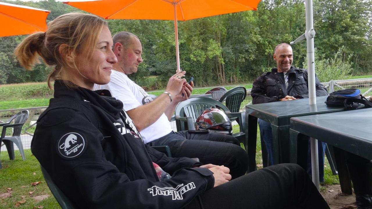 motards rennais à Dinan