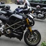 moto de David Jazt à Dinan