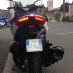 feux à LED sur le Xmax 400 Yamaha
