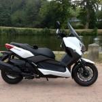 maxi scooter de David Jazt (motard Rennais)
