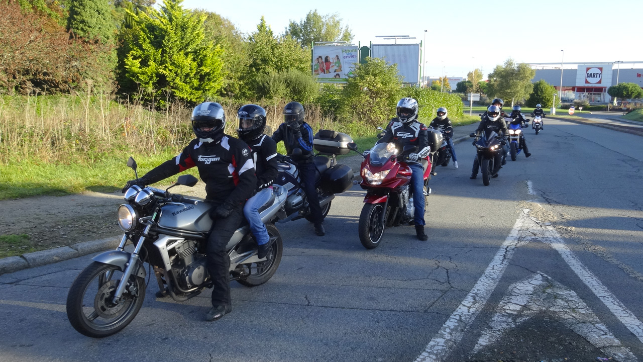 Balade moto Marseille