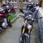parking privatif à Saint-Malo pour les motards Rennais