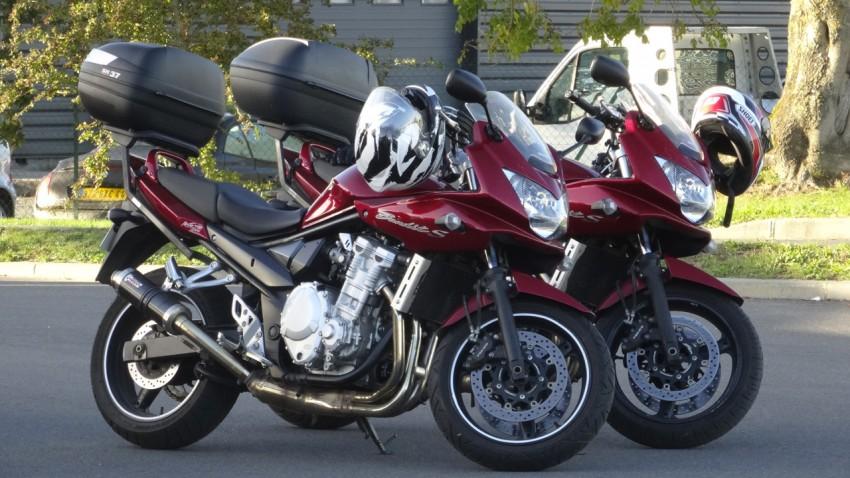 Deux bandit 650 S rouges