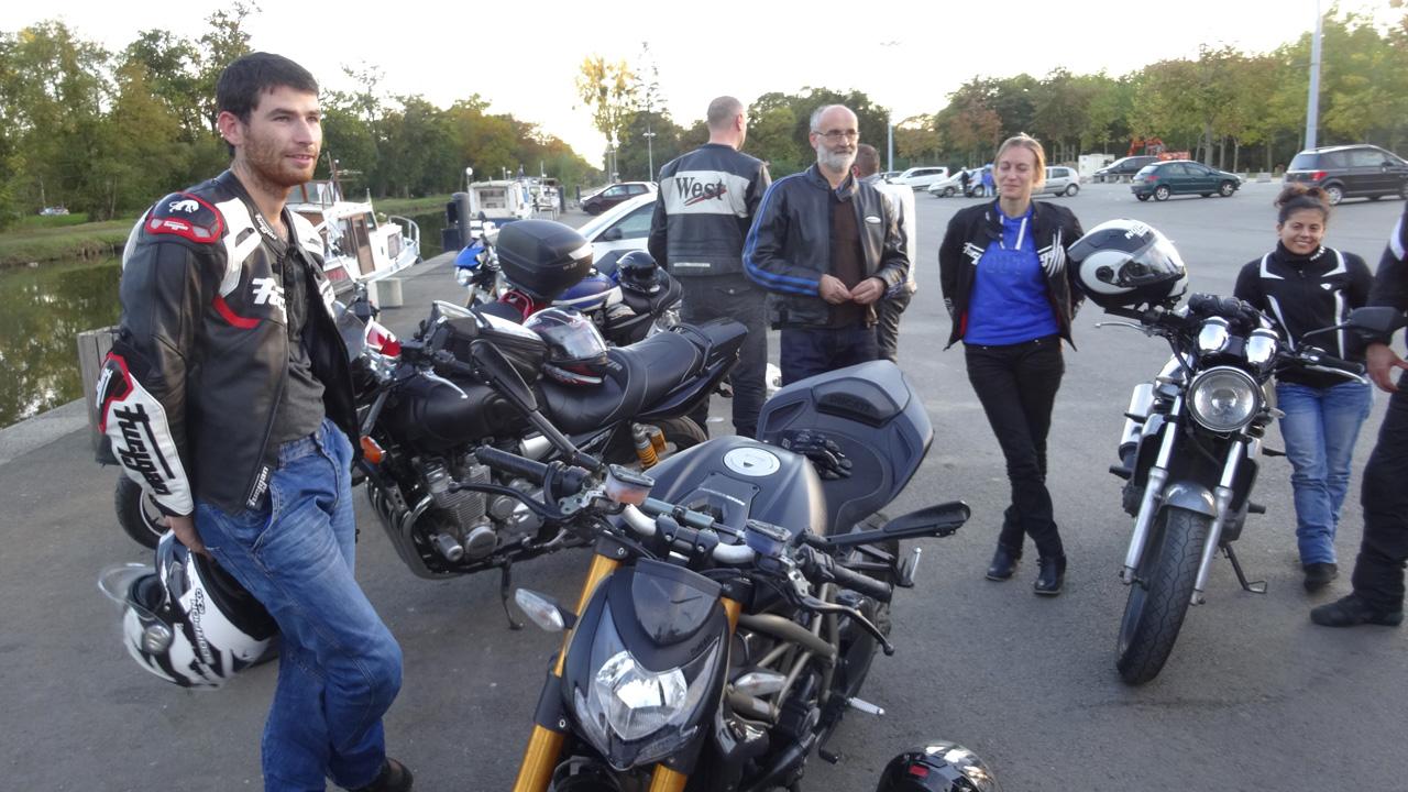 arrivée à Betton pour la fin de la balade du 19 octobre 2014