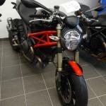 Monster 1100 Evo chez Ducati Laval