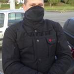 Mathieu, motard Rennais