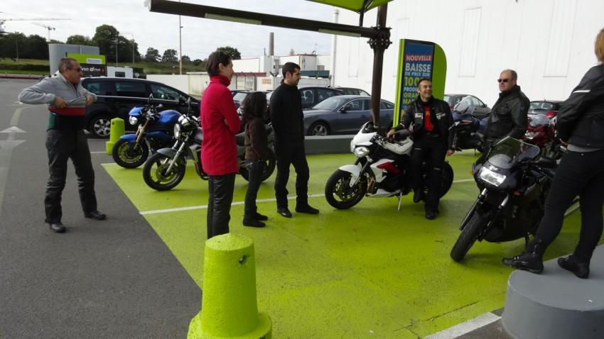 motard Rennais ont répondu présent à la première sortie moto de Laura