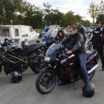 balade moto dimanche à Rennes