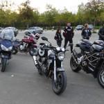 retour des motards Rennais à Betton
