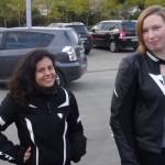 Mélodie et Laura, motardes Rennaises