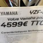 4599 euros pour le R125 2015