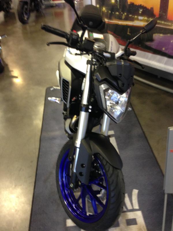 moto MT 125 pas cher à Rennes