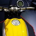 guidon du scrambler 800cc Ducati