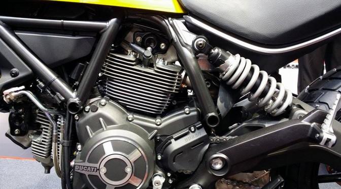 moteur du scrambler icon jaune
