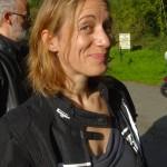 Agnès, motarde Rennaise