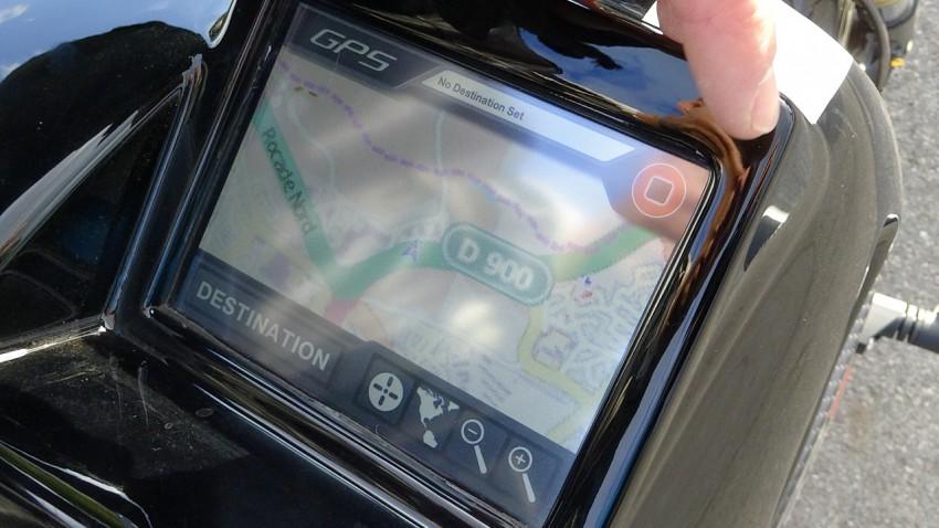GPS intégré sur la SORA