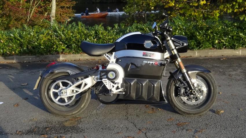 essai moto électrique lito