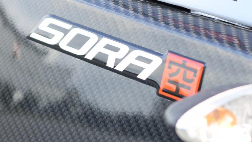 logo Sora, moto électrique