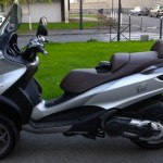 scooter piaggio mp3 500 gris