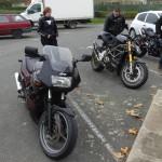 sortie moto décembre 2014 à Rennes
