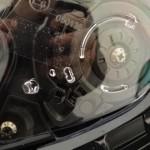 visière translucide sur le GT Air