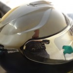 profile droit sur le GT Air Shoei iridium