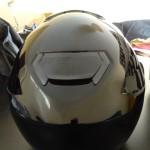 vue arrière sur le casque moto Gt Air Shoei