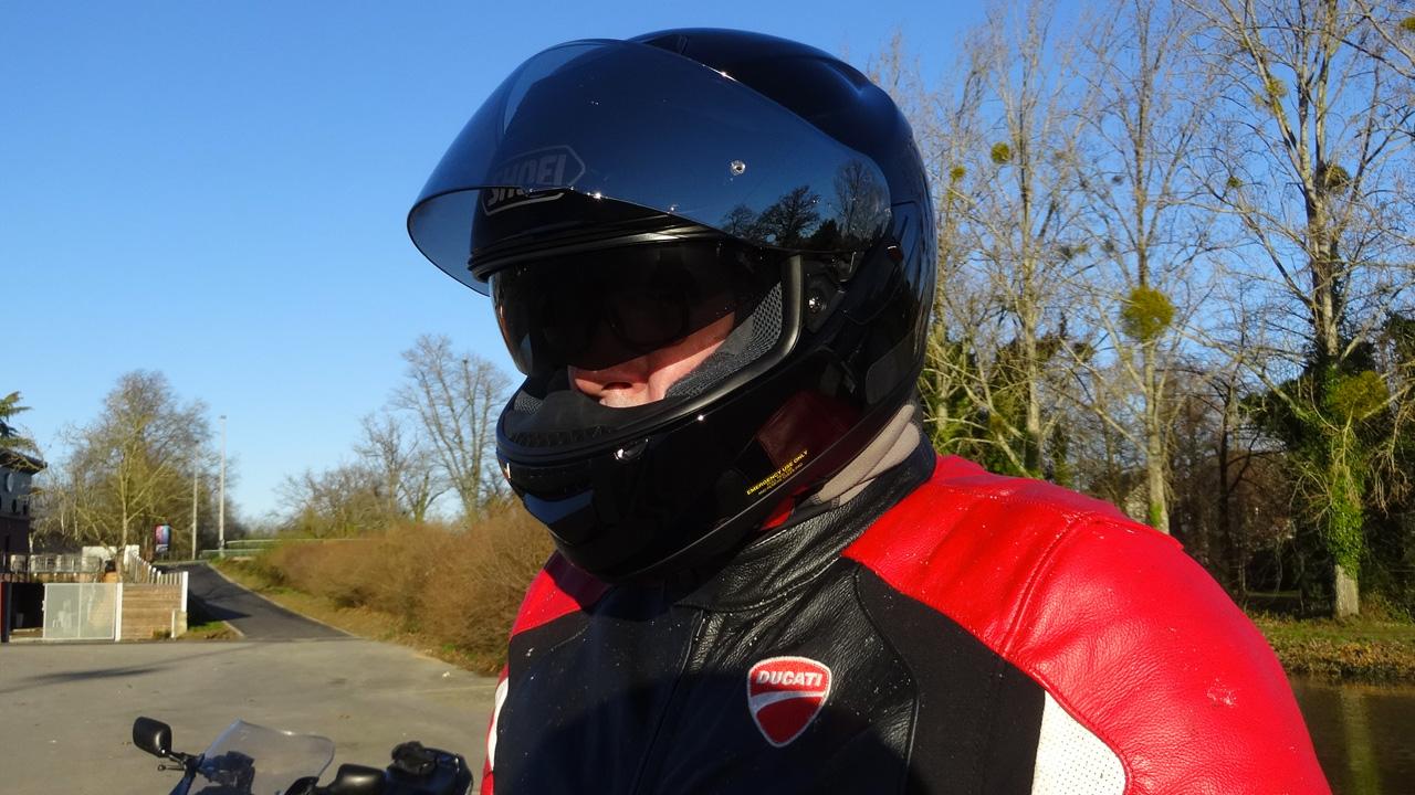 essai casque moto GT Air Shoei