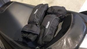 gant hiver en scooter