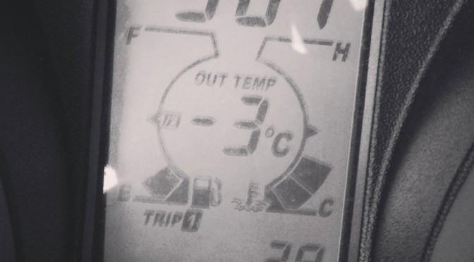 température négative en hiver