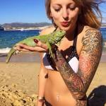 femme tatouage rennes