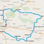 Roadbook à Rennes : 90km