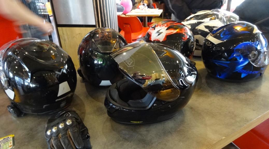 pause motarde à Rennes