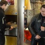 Florent et Alexandre à Rennes pour une sortie moto