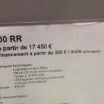 tarif 2015 S1000RR