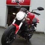 moto Ducati à Laval avec le Monster 821