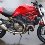 moto roadster italien