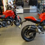 Monster 1200 et Monster 821 chez city Bike Laval