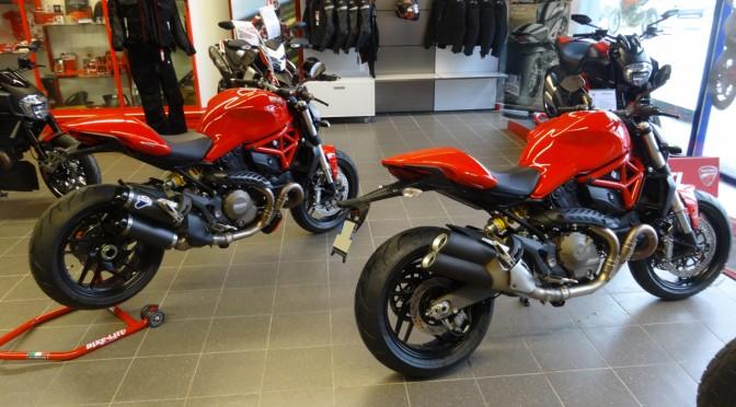 Monster 1200 et Monster 821 chez city Bike Laval