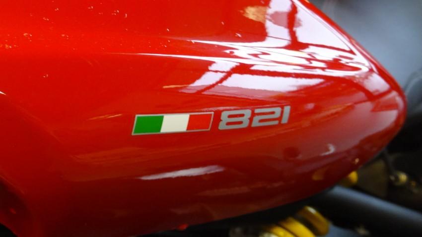 logo Ducati 821