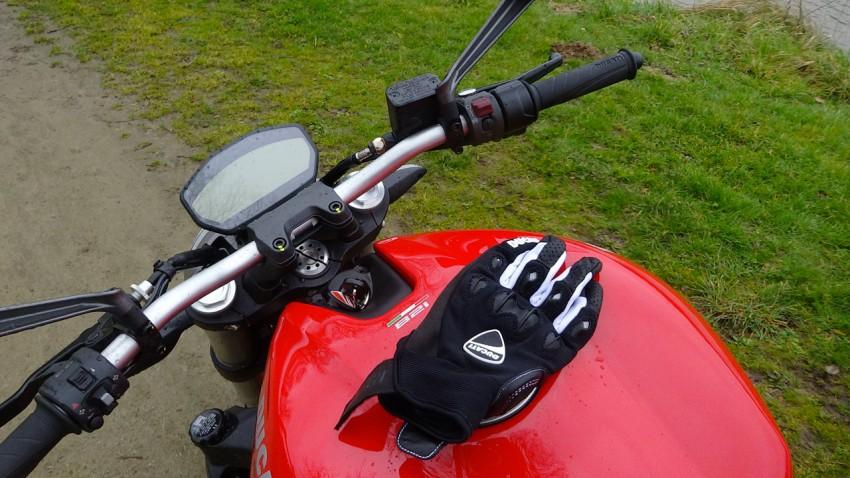 tester les nouveaux gants