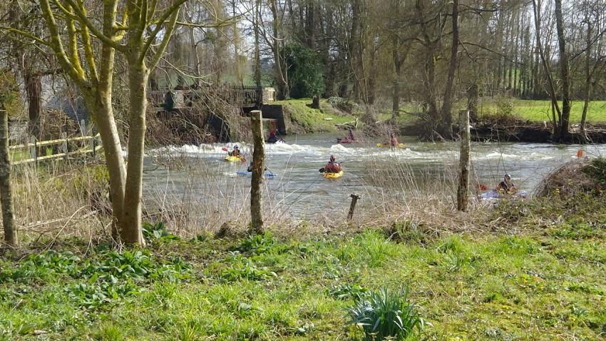 sport de canoë kayak autour de Rennes