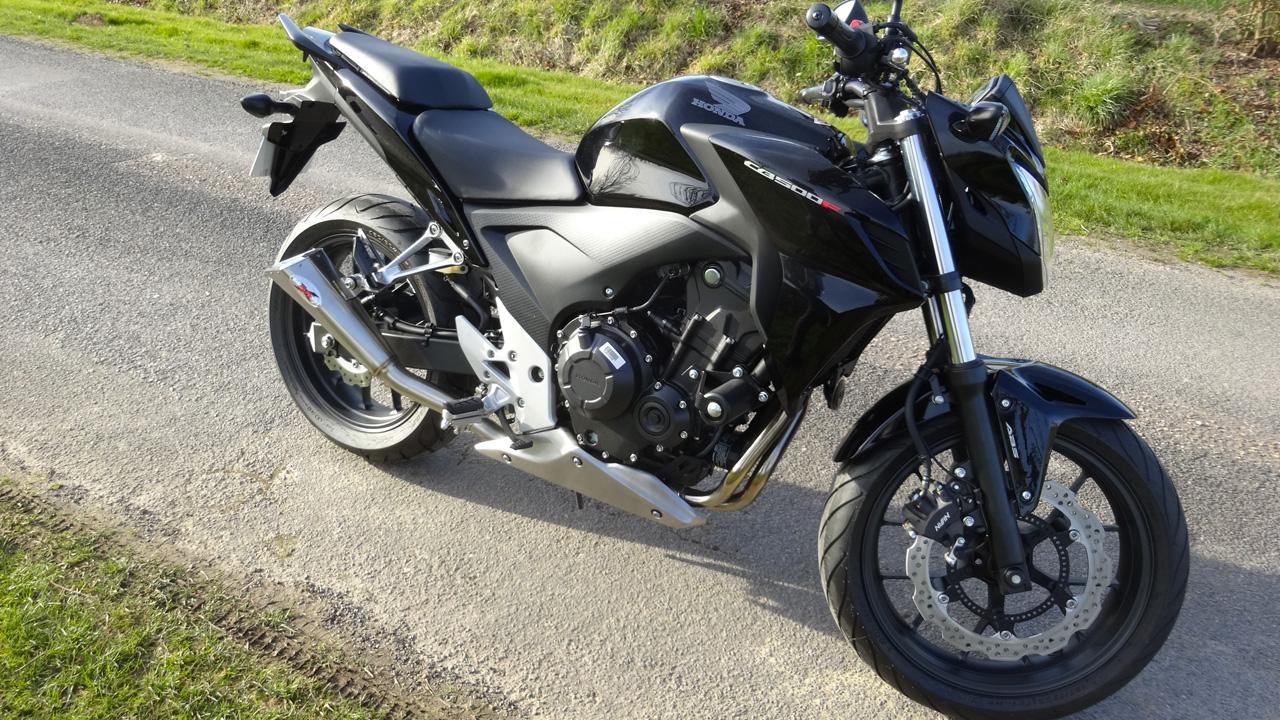 Honda CB 500 F ABS noire