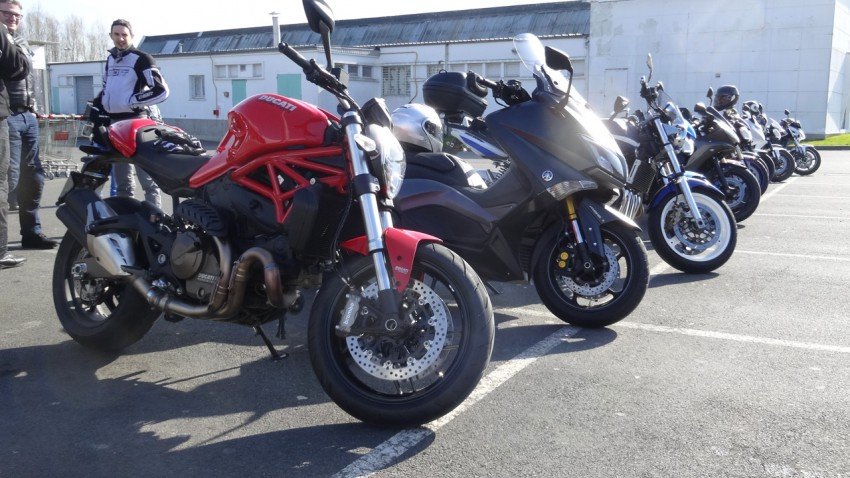 les motos des motardes rennaises