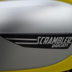 ducati scrambler icon jaune