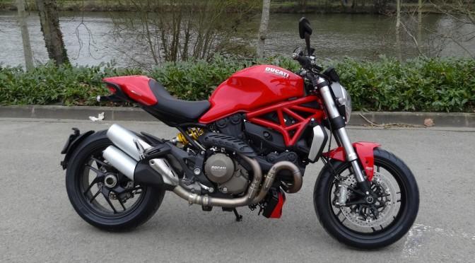 essai moto Ducati Monster 1200